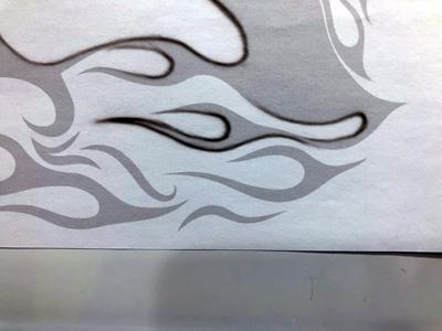 長い線の描き方