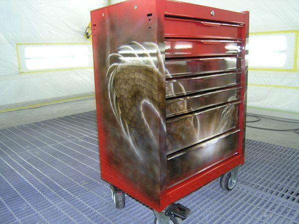 エアブラシ 工具箱
