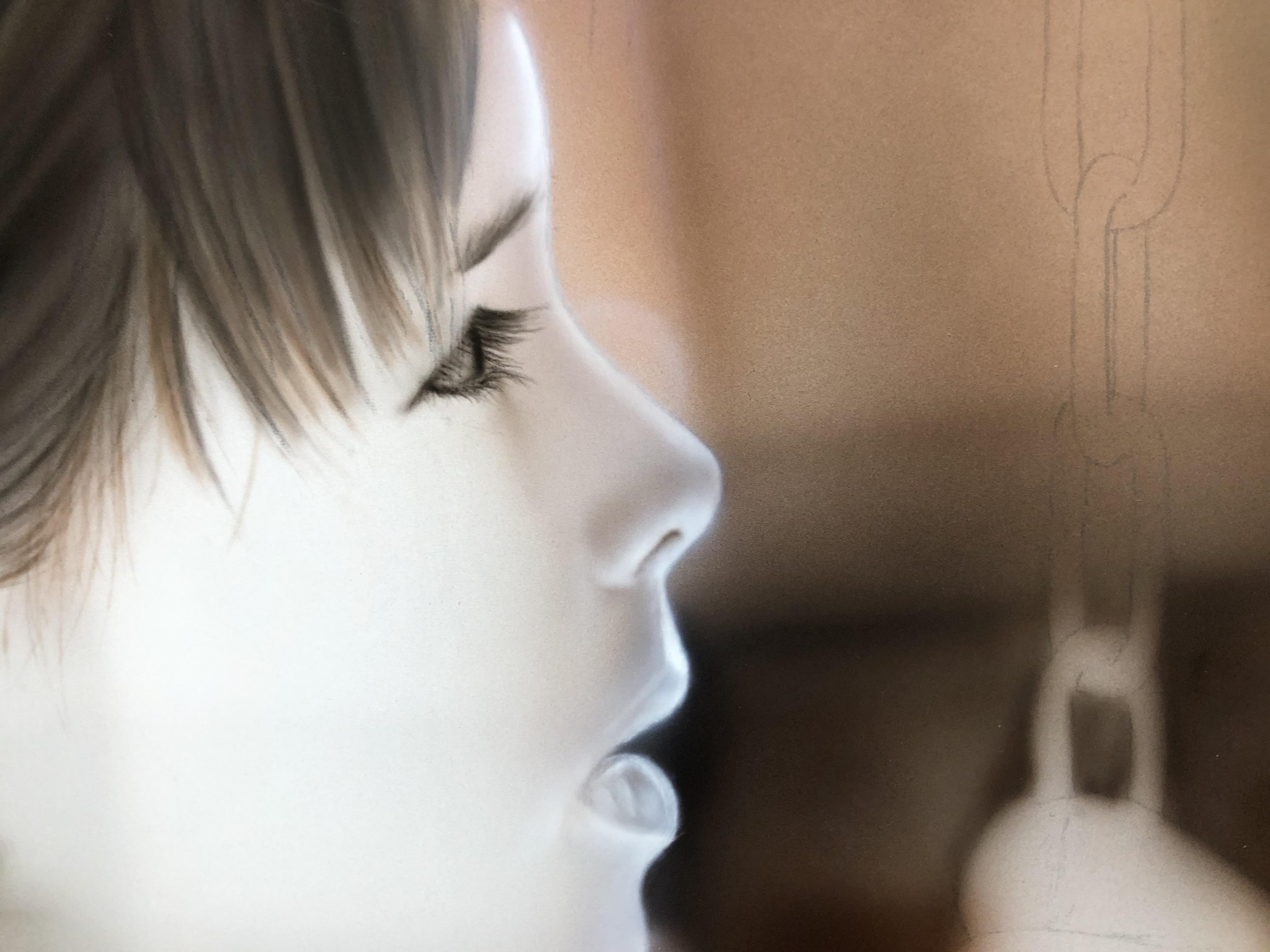 エアブラシアート人物画編肌の描き方