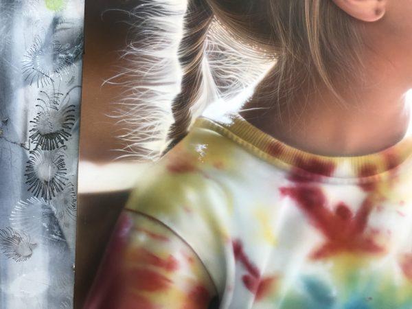 エアブラシアート人物画コース服の描き方