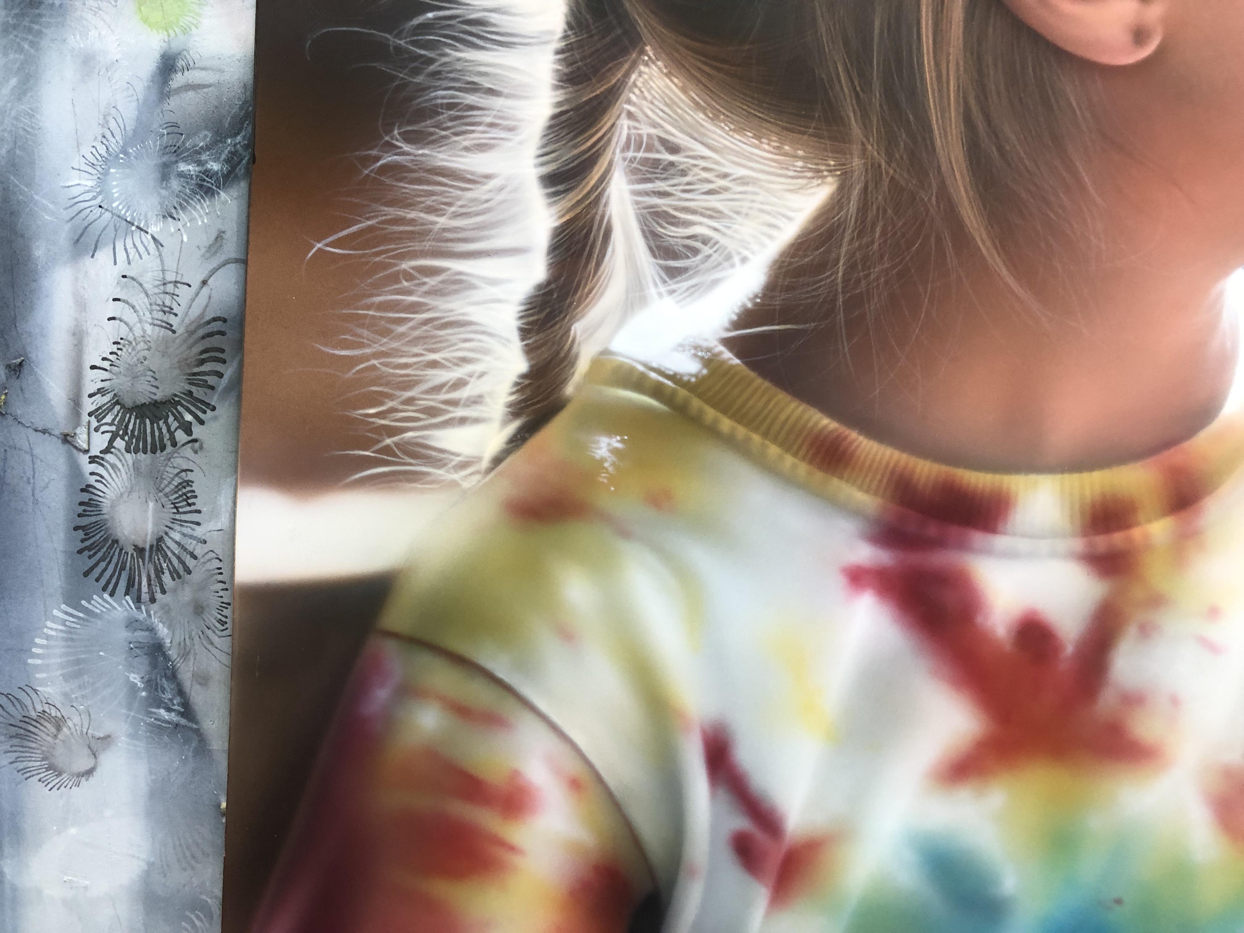 エアブラシアート人物画編服の描き方