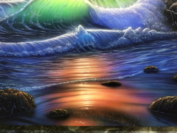 エアブラシアート風景画編の作品